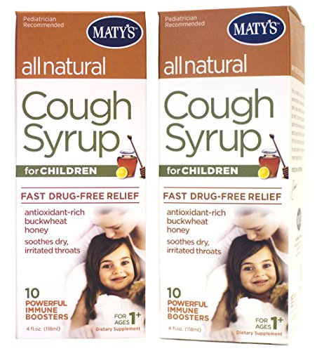 Matys All Natural Childrens Cough Syrup, 4 oz(Pack of 2) (Natural Cough Syrup compare prices)