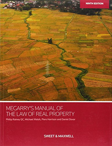 Megarry S Manual Of The Law Of Real Property