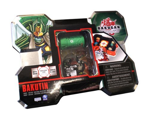 Buy Low Price Spin Master Bakugan Bakutin Green-  Season 3 New Shape Figure (B00336G9YO)