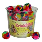 CanCor Mini Crinkle Ball - Tub 48 ct
