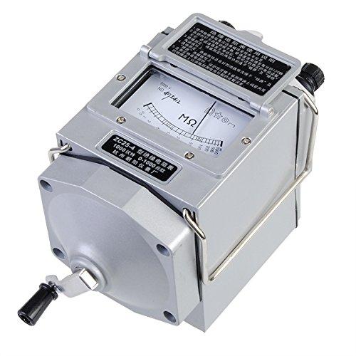 1000V Electronic Insulation Tester Resistance Meter Zc25-4