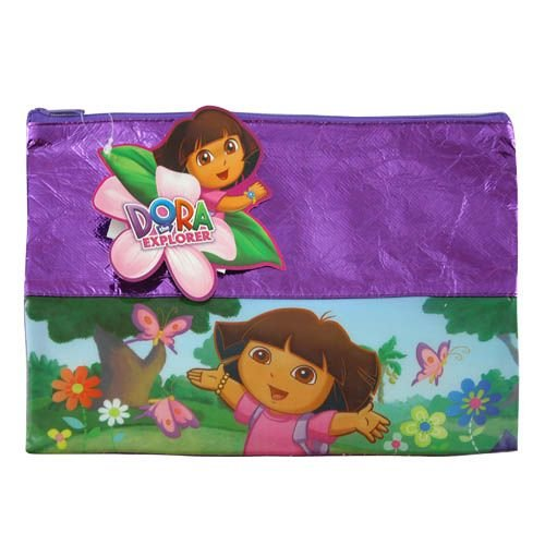 Dora the Explorer Foil Large Pouch with Zipper