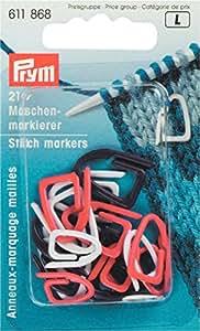 Maschenmarkierer 21 Stück Prym Kunststoff