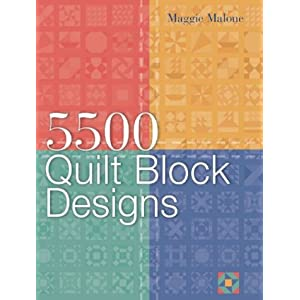 5,500 Quilt Block Designs