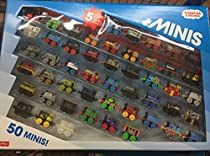 Thomas and Friends Minis Collection of 50 - with 5 Exclusive Warrior Minis