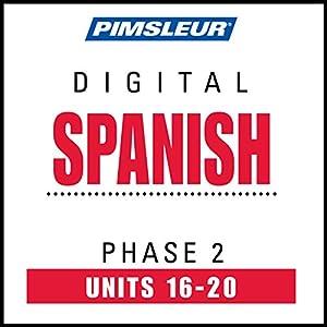 Spanish Phase 2, Unit 16-20 Audiobook