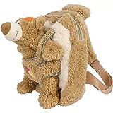 Suave oso de peluche con bolso de peluche, la correa ajustable, lavable, a partir de 18 meses | El ni�o mochila infantil juguetes mochila infantil de peluche