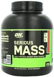 Optimum Nutrition Serious Mass 2727 g Strawberry Weight Gain Powder