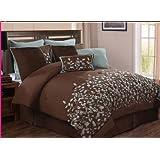 Victoria Classics Jardin 8-Piece Comforter Set, Queen