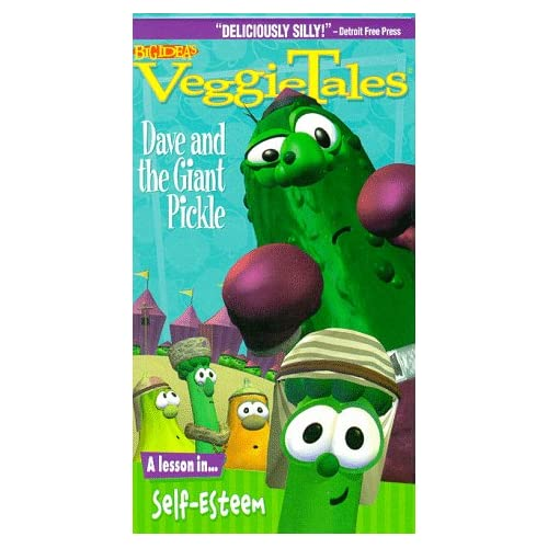 Amazon.com: VeggieTales - Dave and the Giant Pickle [VHS]: Veggie