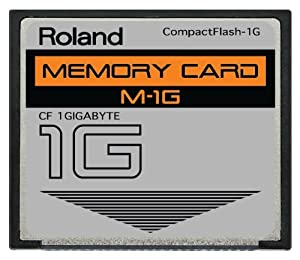 PCMCIA NOT INCLUDED ROLAND E-60 1GB COMPACT FLASH CF MEMORY CARD UPGRADE