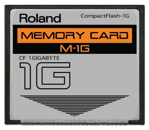 Learn More About 1GB Roland M-1G CompactFlash CF Memory Card for MC-808, SP-404, SP-555, V-Synth, Fa...