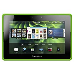 Amzer Silicone Skin Jelly Case for BlackBerry Playbook - Green Color