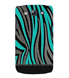 Bling Green Graphics 3D Hard Polycarbonate Designer Back Case Cover for Samsung Galaxy S3 Neo :: Samsung Galaxy S3 Neo i9300i