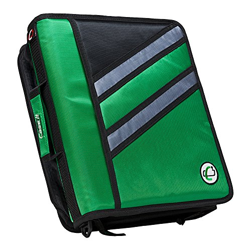Case-it Z-Binder Two-in-One 1.5-Inch D-Ring Zipper Binders