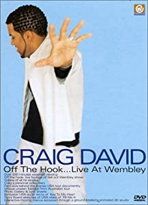 Craig David : Off the Hook… Live at Wembley [+ un CD single offert Walking Away dans la limite des stocks disponibles]