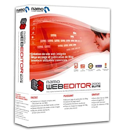 Namo Web Editor 2006 Suite maj