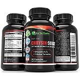 Chrysin Surge Natural Isoflavonne Aromatase Inhibitor Chrysin Surge 900mg 90 Capsules 1 Bottle