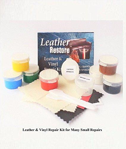 Air Dry Leather & Vinyl Repair Kit Fix & Restore Furniture Car Seat Shoes Jacket (Vinyl Sofa Paint compare prices)