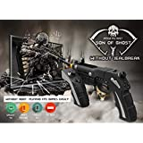 OUYAWEI iPEGA PG-9057 Joystick Bluetooth Wireless Game Controller Gun-Shape Gamepad for Pad/Android Phone Tablet PC
