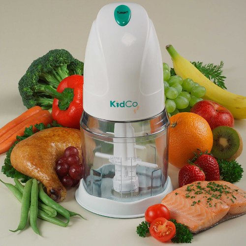 KidCo BabySteps Electric Food Mill - White