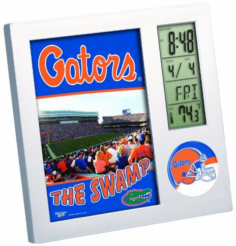 NCAA Florida Gators Digital Desk Clock