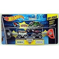 Hot Wheels Monster Jam Mighty Minis Off-Road - Bad Habit & Avenger