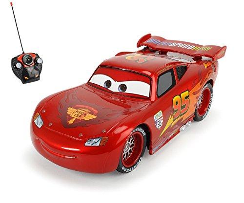 Dickie-Toys-203089538-RC-Metallic-Lightning-McQueen-funkferngesteuerter-Rennwagen-17-cm