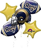Anagram Bouquet Rams Foil Balloons, Multicolor