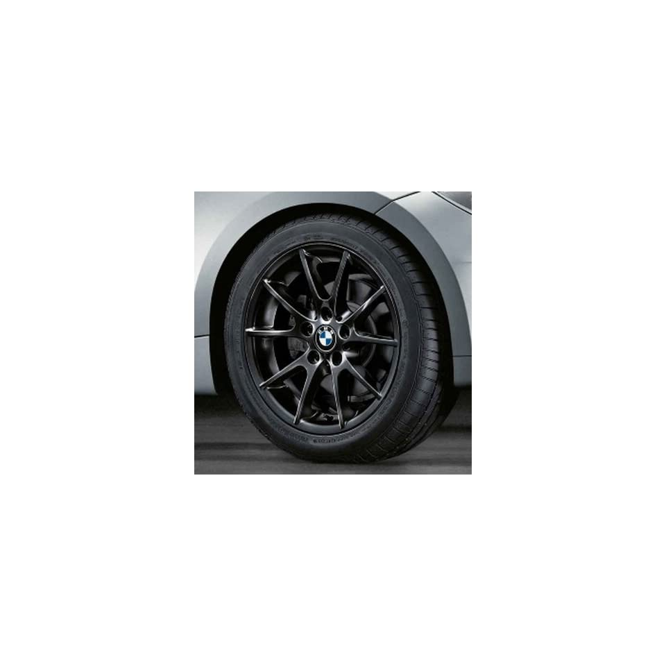 BMW Genuine 18 Black Wheel Rim double spoke 182 128i 135i 128i 135i E82 E88