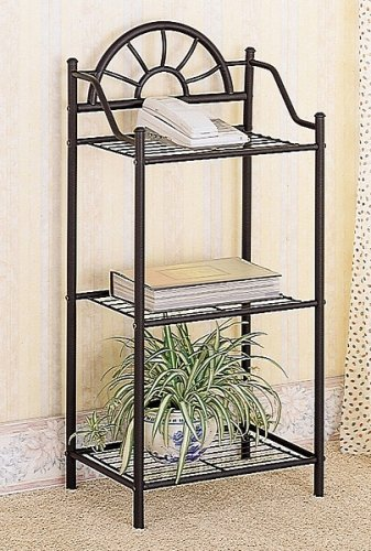 Coaster Garden Plant / Phone Stand Corner Table,