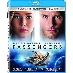 Passengers [4K Ultra HD + Blu-ray]