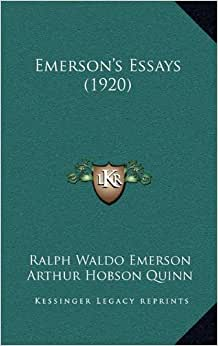 essays emerson amazon Emerson's essay on compensation (with introduction) ebook: ralph waldo emerson: amazonin: kindle store.