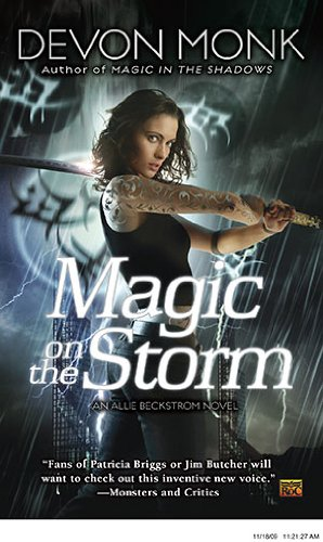 Image of Magic on the Storm (Allie Beckstrom, Book 4)