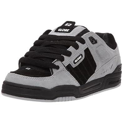 globe fusion chaussures de skate homme gris noir 44 eu chaussures et sacs. Black Bedroom Furniture Sets. Home Design Ideas