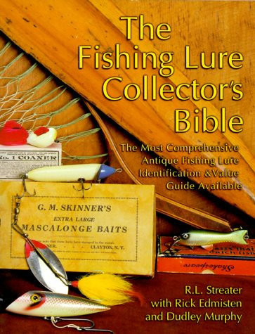 Antique bible usa for Vintage fishing lure identification