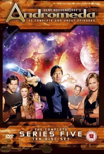 Andromeda – Series 5 [10 Disc Box Set] [DVD]