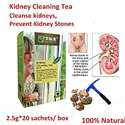 New 1pac=20 sachets Kidney Cleaning Tea Cleanse kidneys, Prevent Kidney Stones energize natural vitality