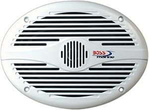 """Boss MR690 6"""" x 9"""" 2-Way Coaxial Marine Speaker by BOSS AUDIO"""