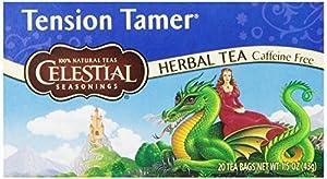 Celestial Seasonings Tension Tamer Tea, 20 Count (Pack of 6)