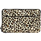 Brown Leopard Neoprene Sleeve Protective Glove Cover for HTC Jetstream 10.1-inch Android 3.1 Wireless Tablet (HTC Puccini)