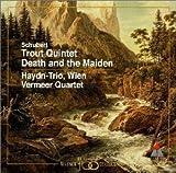 シューベルト : 弦楽四重奏曲「死と乙女」&ピアノ五重奏曲「ます」
