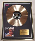 ROD STEWART/Cd Gold Disc Record Limited Edition/THE VERY BEST OF ROD STEWART
