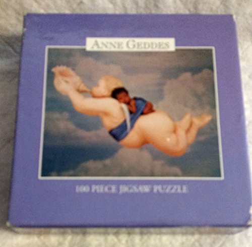 Anne Geddes 100 Piece Baby in Pink Flowers Ceaco Jigsaw Puzzle (1997)
