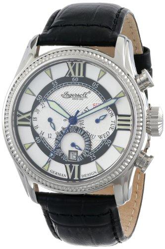 Ingersoll Men's IN3213BK Bel Air Analog Display Automatic Self Wind Black Watch