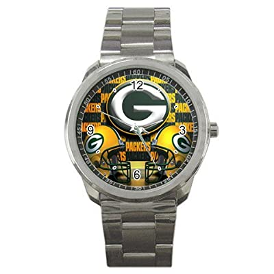 Green-Bay-Packers v2 Sport Metal Watch