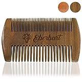 Eberbart Bartkamm - antistatischer Holzkamm für einen natürlich gepflegten Bart (Sandelholz)