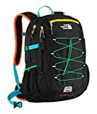 The North Face Borealis Backpack Turquoise Blue / Peel Orange