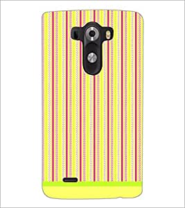 PrintDhaba Pattern D-1594 Back Case Cover for LG G3 (Multi-Coloured)