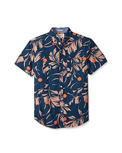 Original Penguin Men's Short Sleeve Poplin Shirt